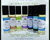 Aromatherapy Synergy Blends Choose Your Blend Rollon Applicator