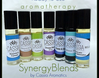 Save on 3 Ready to Use Aromatherapy Blends