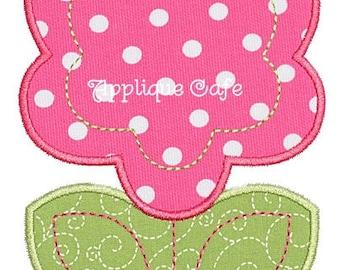419 Flower 4 Machine Embroidery Applique Design