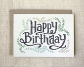 Birthday Card - Pretty Birthday Card