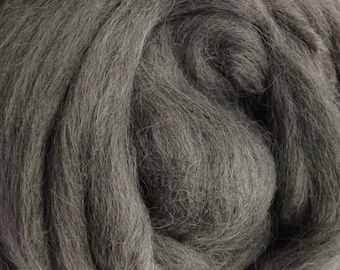 Alpaca Yarn Company - Baby Alpaca Top - Paca Puff -  GREY HEATHER- 2 ounces