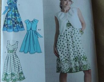 Simplicity 2886 Dress with Bolero