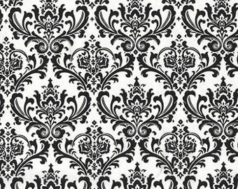 Black and White Table Square Overlay Wedding Floral Damask Table Centerpiece Linens Decoration