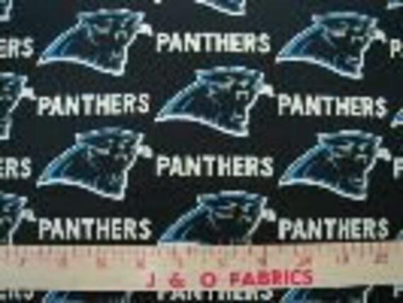 Carolina Panthers Boppy and Lovey - Custom order for missjoyc