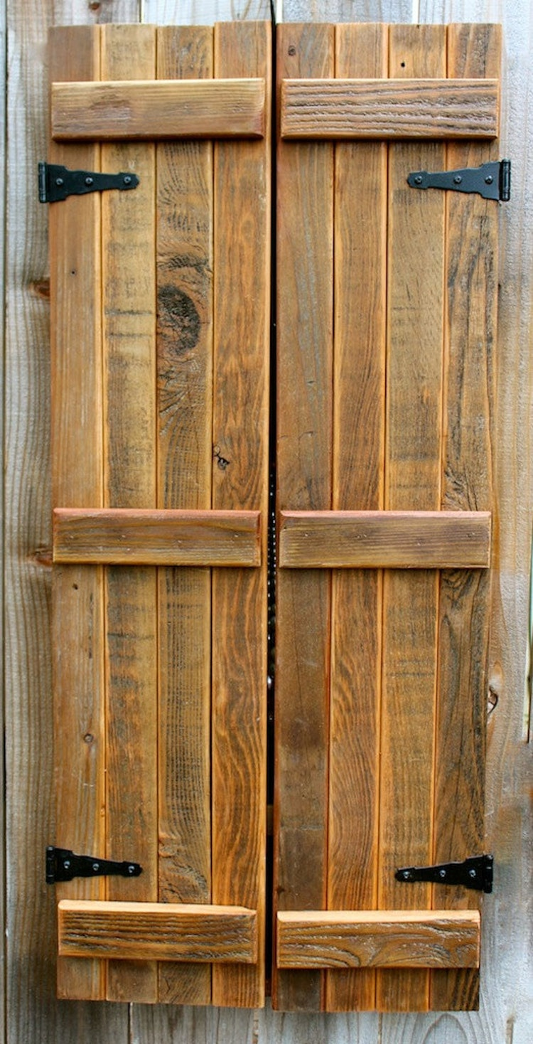 Rustic Wall Mounted Jewelry Organizer with Wooden Barndoor ... |Wooden Wall Jewelry Organizer