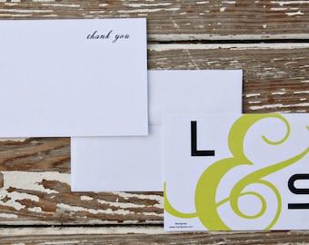 Wedding Invitation Thank You Card - Lauren