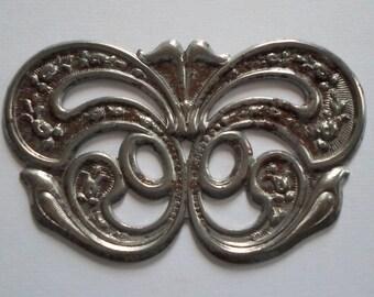 Large Vintage Art Deco Steel Finding