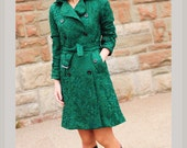 LACE TRENCH coat designer inspired custom made