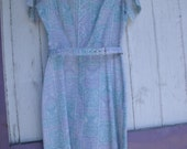 RESERVED Sweet Little 1960's Day Dress, Great Condition, Medium, Mad Men