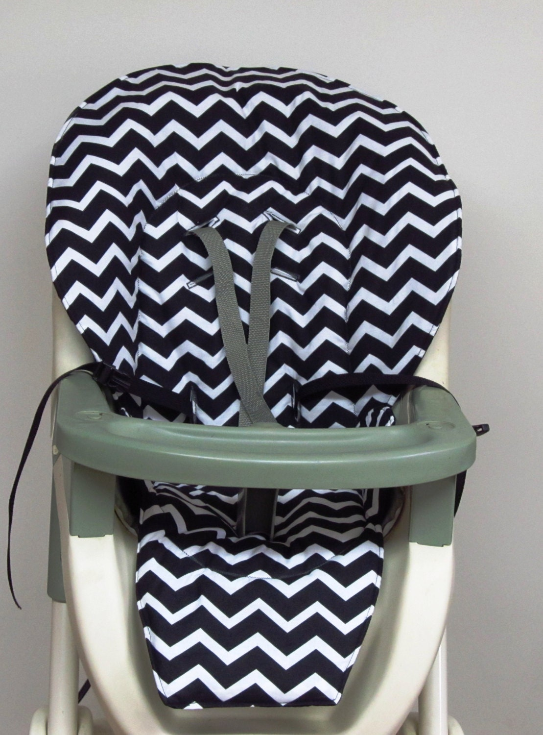 Graco High Chair Cover Pad Replacement Black And White