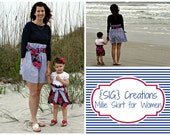 SIG Creations Millie Skirt for Women - Size 0 to 20 or XS to XXL