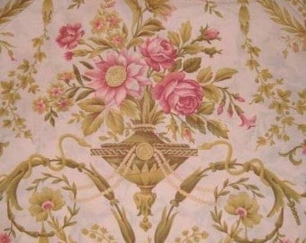 1 yard-----Sumptuous Living Fabric----RJR Robyn Pandolph--Quilt Backing----Pink