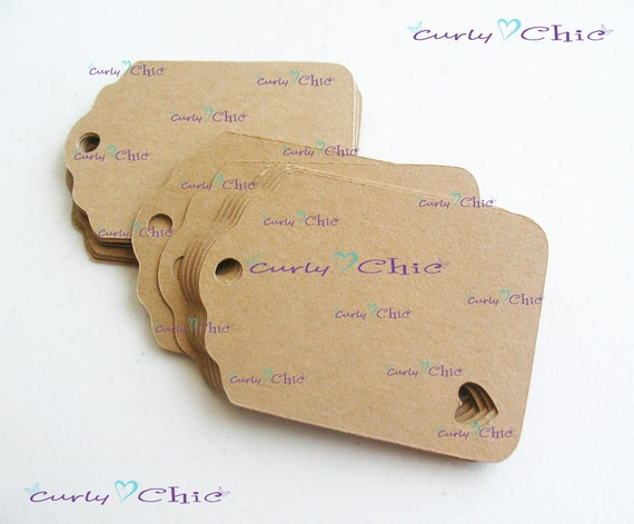 190 Rectangle Tag with Heart 1 1/2 wide x 2 long In Non-textured or Textured Cardstock paper