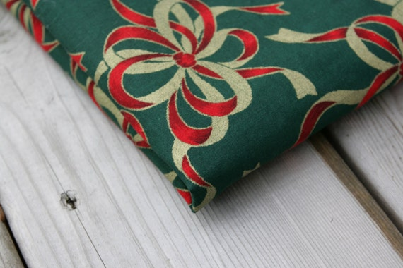 Vintage Fabric VIP Quilting Cotton Christmas Holiday Ribbons