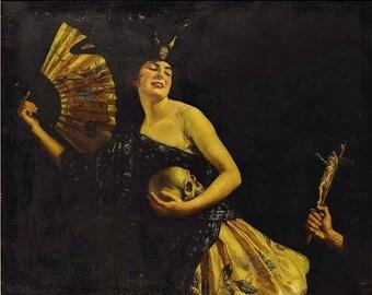 Mistress of Misrule Perfume - Black Currant, Resins, and Opium - 5 ml. - Limited Seasonal