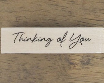 Sewing STAMP of Thinking of you, U7199