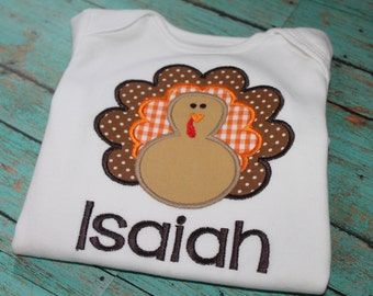 Personalized Turkey Thanksgiving Shirt