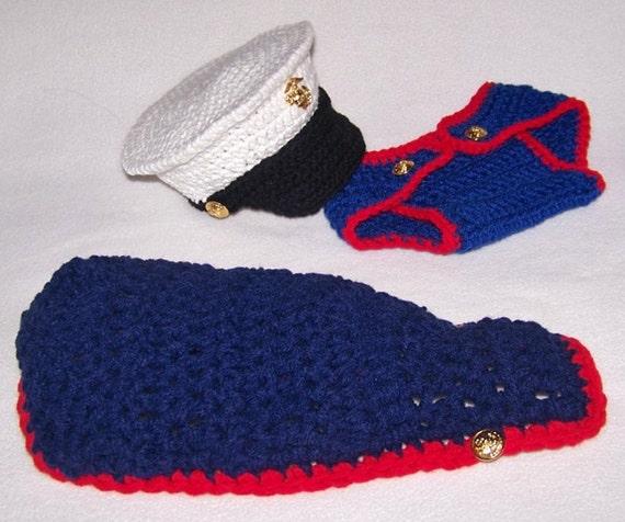 Newborn Prop usmc Marine Marine Corps by