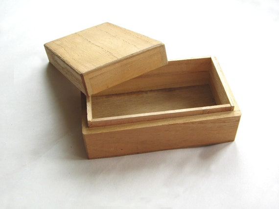 small wooden vintage box diy wooden box to decorate