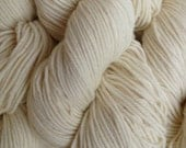 Natural White DK Sport Weight Merino Wool Yarn Natural Un-Dyed
