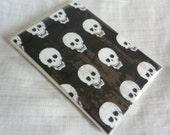 Black and White Baby Skulls Brag Book Photo Album