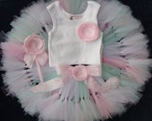 Pretty Pink Fairy Dust Tutu Dress Outfit for Baby Girls Birthday Party