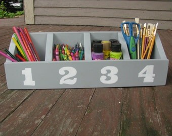 Kids Desk Caddy Organizer - Great for Art Supplies, etc.