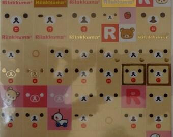 San-X Korilakkuma Sticker Sheet