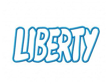Liberty Embroidery Machine Applique Design 3090