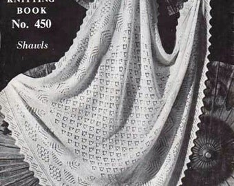 Download Knitting Pattern - Shawl 2 ply or 3 ply - Laceweight//Shetland//keepsake//Heirloom Quality Bebe baby shawls