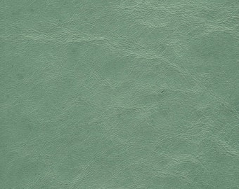 "5308 -Genuine Lambskin Leather Fabric/luscious pastel aqua/new vintage hide cut/leather piece/14""x7.75""/Woolen Crow 7.50/leather projects"