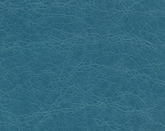 "5338-Blue/Genuine Lambskin Leather Fabric/square 9""x9.5""/light wt/soft supple/new cut vintage hide/craft supplies/leather material/jewelry"