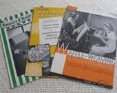 Vintage Books Chair Sets, Waffle Weaving & Crochet Favorites