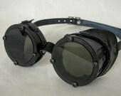 Machined Aluminum Goggles, Black Anodized - GO051BA