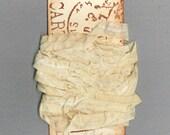 seambinding rustic 15 yards seam binding rustic tea dyed trim gift wrap craft scrapbook journal ribbon  956 . ....oohlala