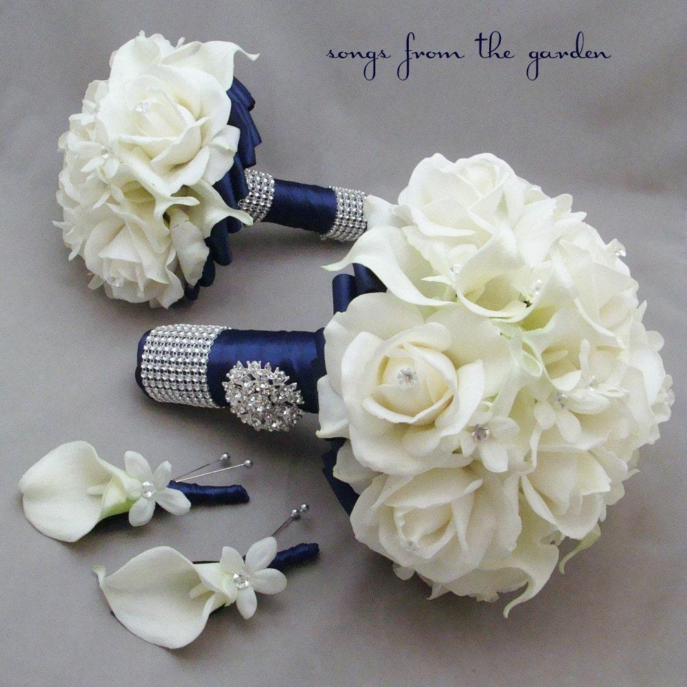 Wedding Flower Package Bridal Bouquet By SongsFromTheGarden