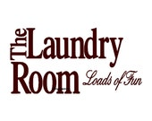 The Laundry Room Loads of Fun - Wall Decal - Vinyl Wall Decals, Wall Decor, Signage, Wall Stickers, Laundry Room Decal, Laundry Room Decor