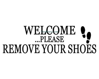 Remove Shoes Decal Etsy - Custom vinyl wall decals canada   how to remove