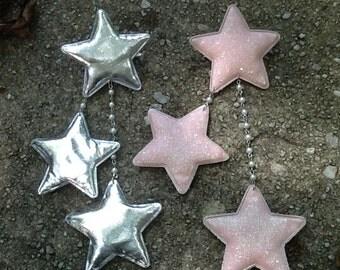 Shooting Stars - Dangling 2way clip
