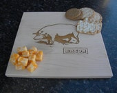 Personalized Established Family Name Cutting Board laser Engraved wedding or anniversary gift