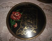choice of 20 different  state Souvenir Tin Metal Serving Tray
