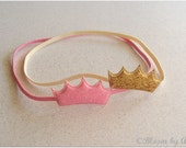 Simply chic collection . Petite crown headband