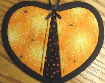 LAST SET - Happy Spiders Potholders - Set of 2