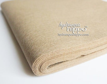 10 Sheets - TAUPE - Wool Blend Felt - 12 x 18 inch sheets