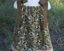 """Girls Duck Dynasty """"inspired"""" Camouflage Pillowcase Dress in size 3T.  """"Ready to Ship"""""""