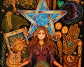 Charmed - A Fine Art Greeting Card