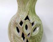 Carved Porcelain Vase