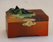 Polymer wooden box alter box crystal treasure box