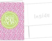 Personalized Pocket Folder - Greek