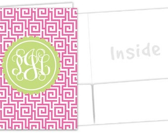 Personalized Pocket Folder - Sorority Folder